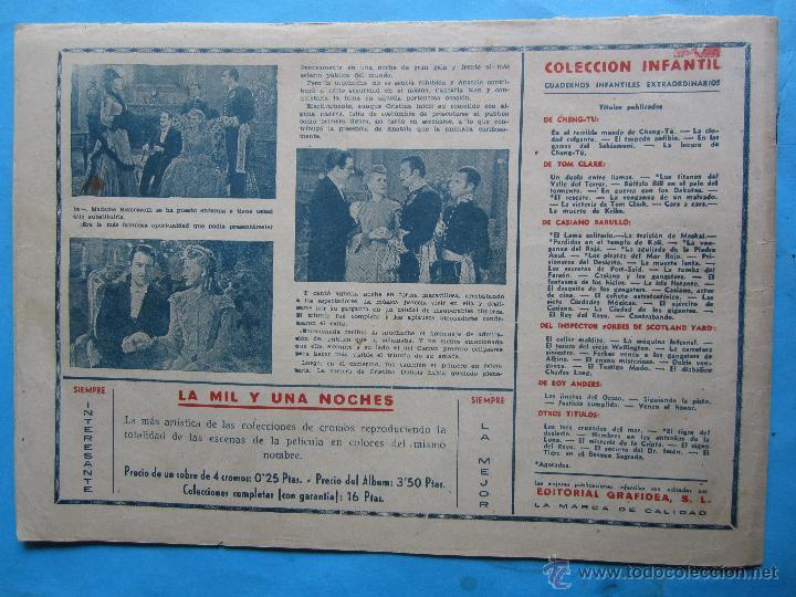 Tebeos: casiano barullo, 21 , contrabando , primera edicion 1944 , editorial grafidea - Foto 5 - 43512583