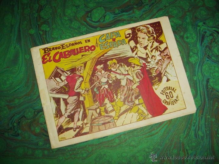 BRAVO ESPAÑOL (GRAFIDEA - 1941) ... EL CABALLERO DE CAPA Y ESPADA (Tebeos y Comics - Grafidea - Otros)
