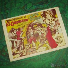 Tebeos: BRAVO ESPAÑOL (GRAFIDEA - 1941) ... EL CABALLERO DE CAPA Y ESPADA. Lote 43615732