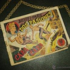 Tebeos: BRAVO ESPAÑOL (GRAFIDEA - 1941) ... DOS PASIONES. Lote 43615739