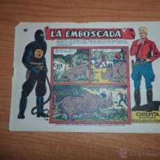 Tebeos: CHISPITA 9ª NOVENA AVENTURA, Nº 15 - EDITORIAL GRAFIDEA 1957 ORIGINAL . Lote 45288083