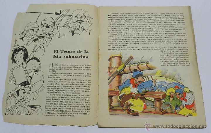 Tebeos: EL TESORO DE LA ISLA SUBMARINA, ILUSTRACIONES DE COZZI A., COLECCION CANDOR, PUBLICACIONES CINEMA, T - Foto 2 - 45513290