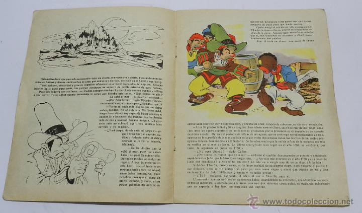 Tebeos: EL TESORO DE LA ISLA SUBMARINA, ILUSTRACIONES DE COZZI A., COLECCION CANDOR, PUBLICACIONES CINEMA, T - Foto 3 - 45513290