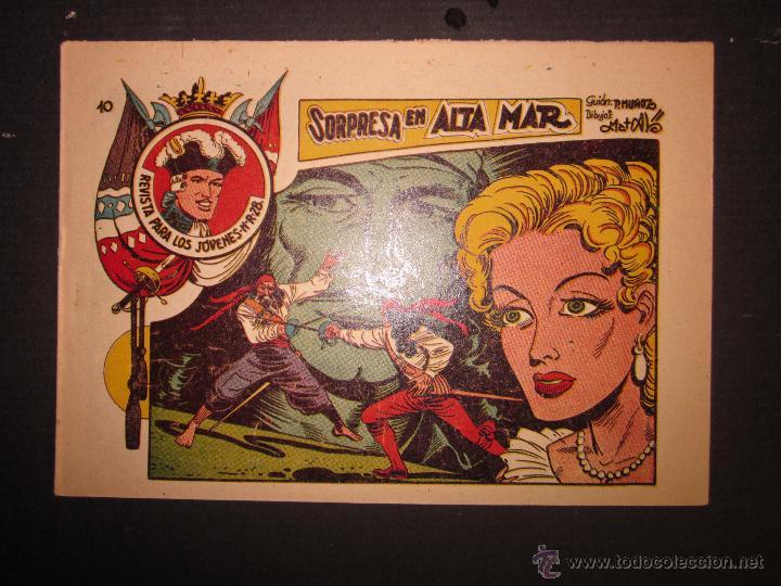 JARKO EL TEMIBLE - NUMERO 10 - SORPRESA EN ALTA MAR (Tebeos y Comics - Grafidea - Otros)