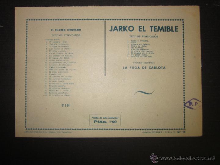 Tebeos: JARKO EL TEMIBLE - NUMERO 10 - SORPRESA EN ALTA MAR - Foto 6 - 45924617