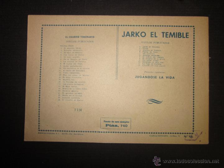 Tebeos: JARKO EL TEMIBLE - NUMERO 12 - COLGADO DEL PALO MAYOR - Foto 8 - 45924658