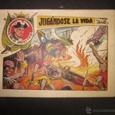 Tebeos: JARKO EL TEMIBLE - NUMERO 13 - JUGANDOSE LA VIDA . Lote 45924678