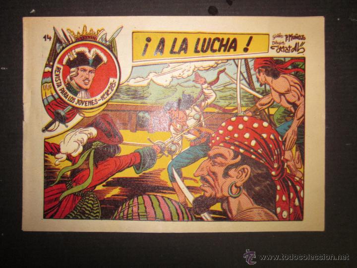 JARKO EL TEMIBLE - NUMERO 14 - A LA LUCHA (Tebeos y Comics - Grafidea - Otros)