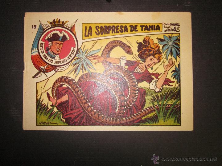 JARKO EL TEMIBLE - NUMERO 15 - LA SORPRESA DE TANIA (Tebeos y Comics - Grafidea - Otros)