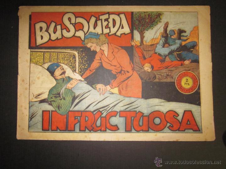 EL JINETE FANTASMA - ORIGINAL - BUSQUEDA INFRUCTUOSA - 2 PESETAS - (COM -204) (Tebeos y Comics - Grafidea - El Jinete Fantasma)