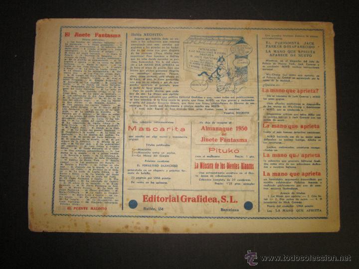 Tebeos: EL JINETE FANTASMA - ORIGINAL - BUSQUEDA INFRUCTUOSA - 2 PESETAS - (COM -204) - Foto 3 - 45967507