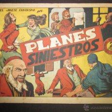 Tebeos: EL JINETE FANTASMA - ORIGINAL - PLANES SINIESTROS - 2 PESETAS - (COM -207). Lote 45967579