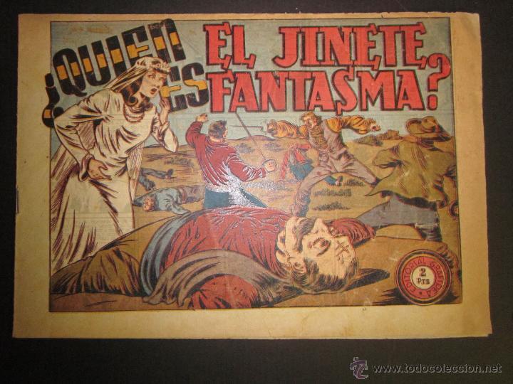 EL JINETE FANTASMA - ORIGINAL - QUIEN ES - 2 PESETAS - (COM -208) (Tebeos y Comics - Grafidea - El Jinete Fantasma)
