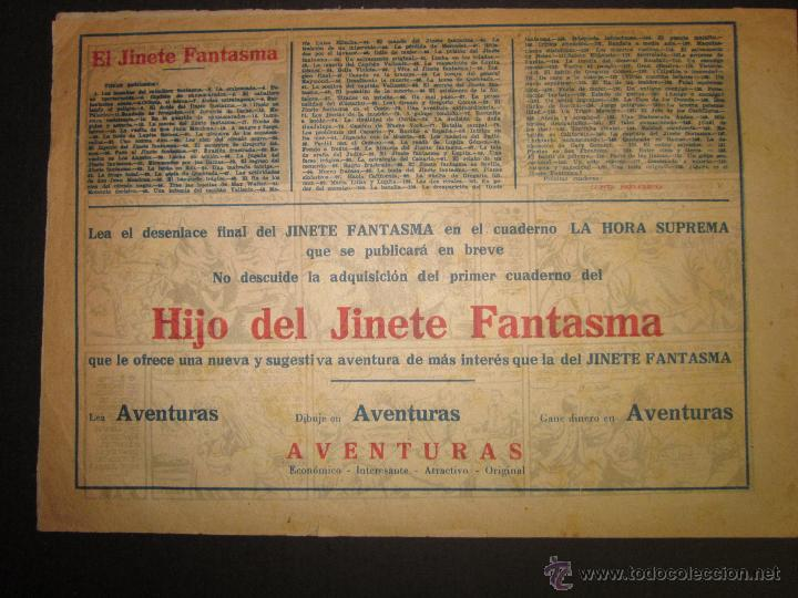 Tebeos: EL JINETE FANTASMA - ORIGINAL - QUIEN ES - 2 PESETAS - (COM -208) - Foto 3 - 45967596