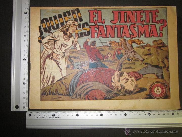 Tebeos: EL JINETE FANTASMA - ORIGINAL - QUIEN ES - 2 PESETAS - (COM -208) - Foto 4 - 45967596
