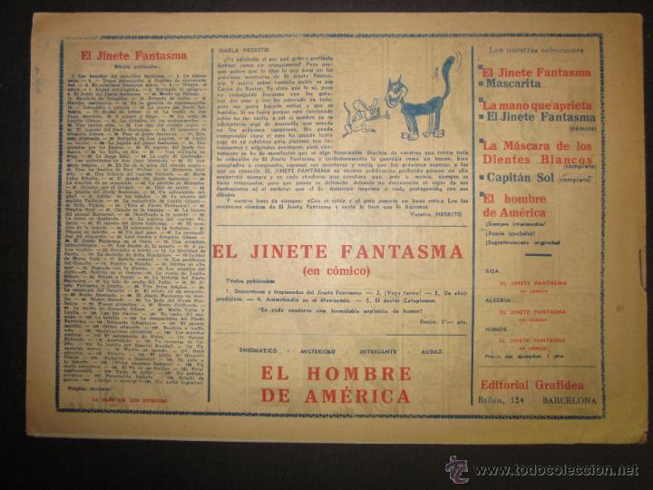 Tebeos: EL JINETE FANTASMA - ORIGINAL - UN ARDID INGENIOSO - 2 PESETAS - (COM -209) - Foto 3 - 45967617