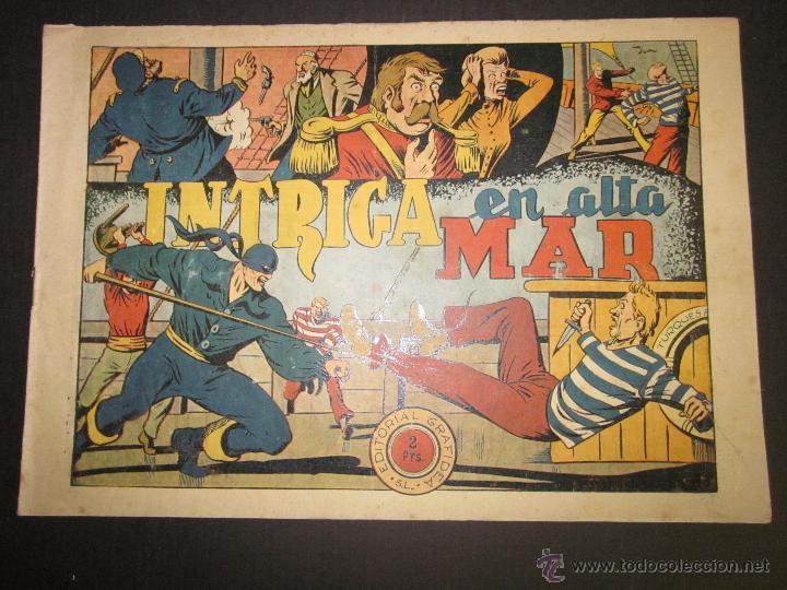 EL JINETE FANTASMA - ORIGINAL - INTRIGA EN ALTA MAR - 2 PESETAS - (COM -211) (Tebeos y Comics - Grafidea - El Jinete Fantasma)