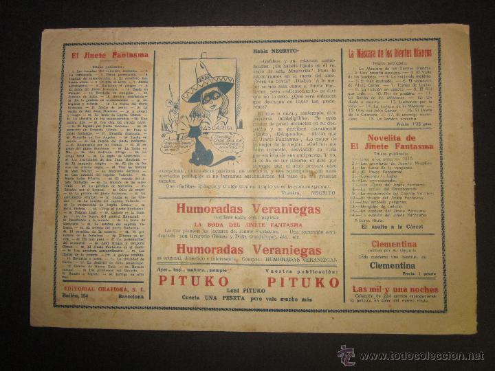 Tebeos: EL JINETE FANTASMA - ORIGINAL - INTRIGA EN ALTA MAR - 2 PESETAS - (COM -211) - Foto 3 - 45967652