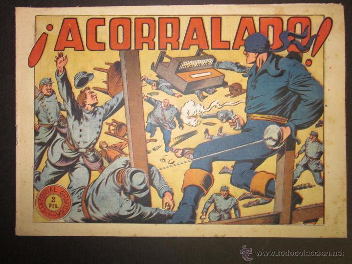EL JINETE FANTASMA - ORIGINAL - ACORRALADO - 2 PESETAS - (COM -213) (Tebeos y Comics - Grafidea - El Jinete Fantasma)