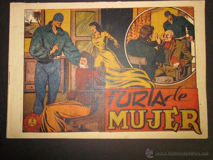 EL JINETE FANTASMA - ORIGINAL - FURIA DE MUJER - 2 PESETAS - (COM -222) (Tebeos y Comics - Grafidea - El Jinete Fantasma)