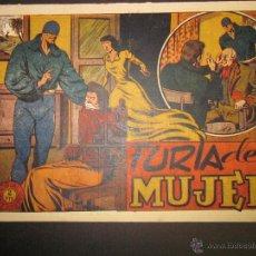 Tebeos: EL JINETE FANTASMA - ORIGINAL - FURIA DE MUJER - 2 PESETAS - (COM -222). Lote 45967912
