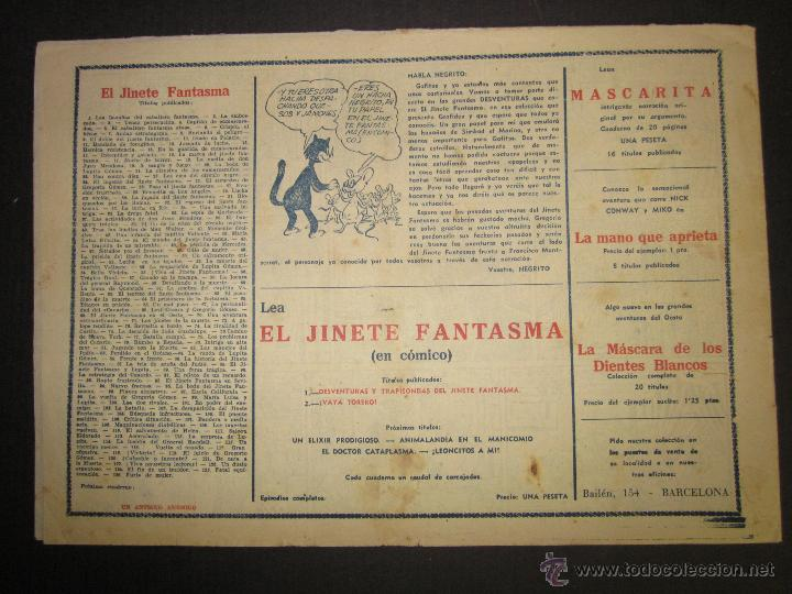 Tebeos: EL JINETE FANTASMA - ORIGINAL - FURIA DE MUJER - 2 PESETAS - (COM -222) - Foto 3 - 45967912