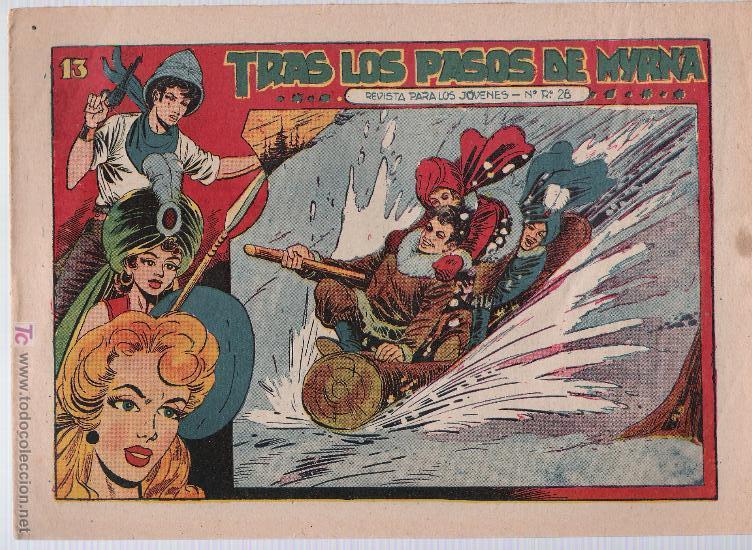 EL AMULETO VERDE Nº 13. GRAFIDEA 1956. (Tebeos y Comics - Grafidea - Otros)