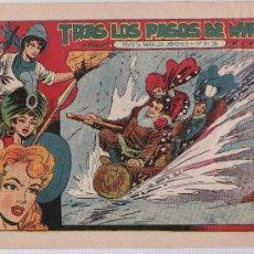 Tebeos: EL AMULETO VERDE Nº 13. GRAFIDEA 1956.. Lote 25401586