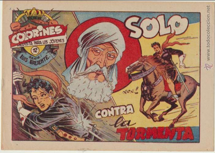 LUIS VALIENTE Nº 12. GRAFIDEA 1957. SIN ABRIR ¡IMPECABLE! (Tebeos y Comics - Grafidea - Otros)