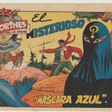 Tebeos: LUIS VALIENTE Nº 11. GRAFIDEA 1957.. Lote 47943331