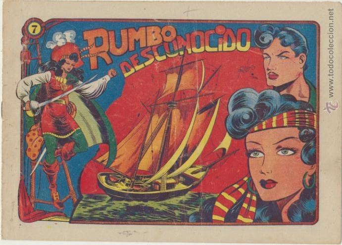 LA CAPITANA Nº 7. GRAFIDEA 1955. (Tebeos y Comics - Grafidea - Otros)