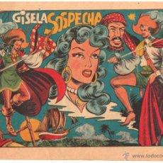 Tebeos: LA CAPITANA ORIGINAL Nº 23 EDITORIAL GRAFIDEA 1955 POR MATIAS ALONSO - MAGNÍFICO ESTADO. Lote 114238543