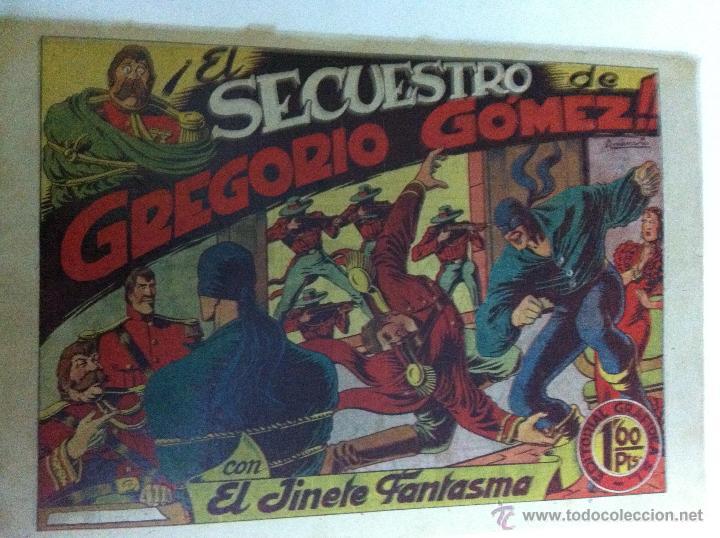 EL JINETE FANTASMA - EL SECUESTRO DE GREGORIO GOMEZ (Tebeos y Comics - Grafidea - El Jinete Fantasma)