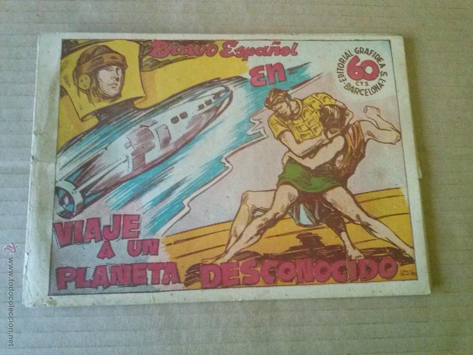 BRAVO ESPAÑOL Nº 13 ULTIMO - GRAFIDEA 1941-T (Tebeos y Comics - Grafidea - Otros)