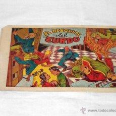 Tebeos: EL DESQUITE DEL ZURDO. QUINTA AVENTURA. Nº 23 - GRAFIDEA, AÑOS 50. Lote 53316767