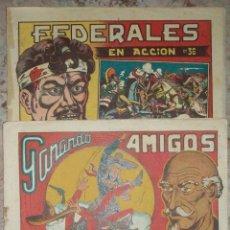 Tebeos: EL CHARRO TEMERARIO (GRAFIDEA) (LOTE DE 3 NUMEROS). Lote 53586412
