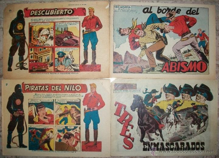 CHISPITA (GRAFIDEA) (LOTE DE 4 NUMEROS) VER DESCRIPCION (Tebeos y Comics - Grafidea - Chispita)
