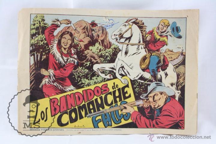 CÓMIC CHISPITA - Nº 8. LOS BANDIDOS DE COMANCHE FALLS - ED. GRAFIDEA, AÑOS 50 (Tebeos y Comics - Grafidea - Otros)
