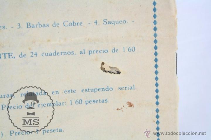 Tebeos: Cómic Chispita - Nº 8. Los Bandidos de Comanche Falls - Ed. Grafidea, Años 50 - Foto 5 - 53879847