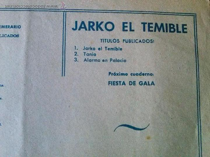 Tebeos: jarko el terrible ,nº 3 grafidea - ta - Foto 2 - 54182068