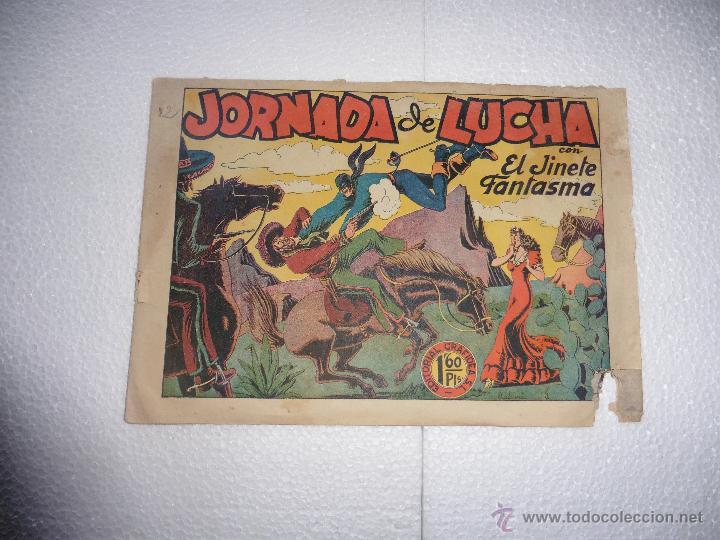 JINETE FANTASMA Nº 12 ORIGINAL (Tebeos y Comics - Grafidea - El Jinete Fantasma)