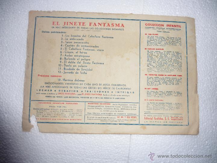Tebeos: JINETE FANTASMA Nº 12 ORIGINAL - Foto 2 - 96388395