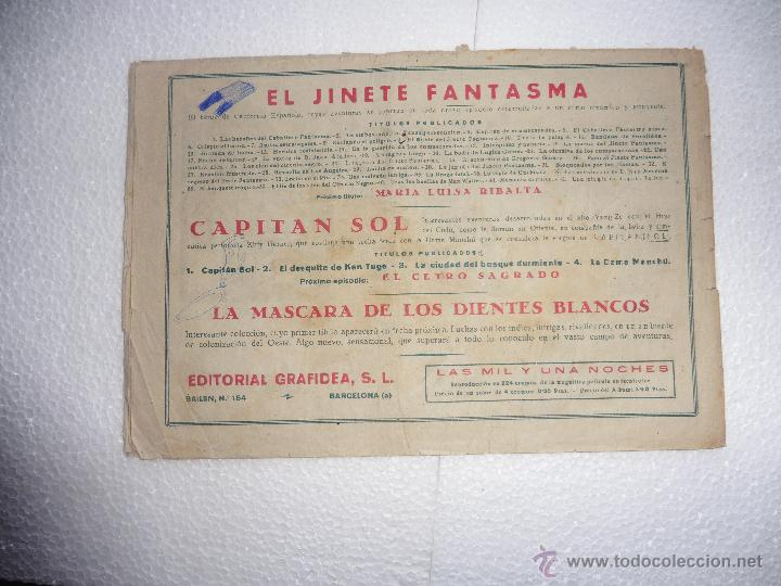Tebeos: JINETE FANTASMA Nº 42 ORIGINAL - Foto 2 - 54229300