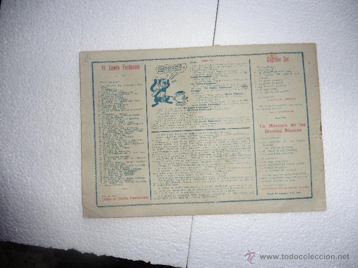Tebeos: JINETE FANTASMA Nº 53 ORIGINAL - Foto 2 - 54229552