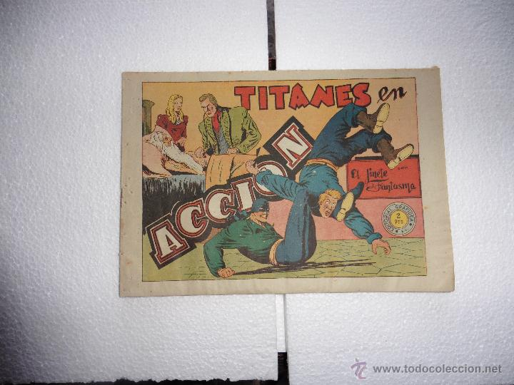 JINETE FANTASMA Nº 65 ORIGINAL (Tebeos y Comics - Grafidea - El Jinete Fantasma)