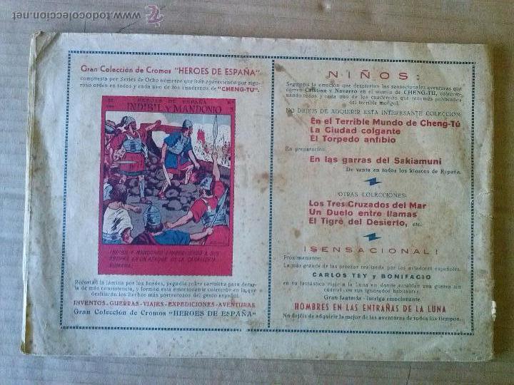 Tebeos: navarro y cristina - nº 3 - grafidea -original col de 5 ?- ta - Foto 2 - 54996696