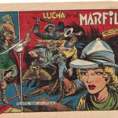 Tebeos: LA CAPITANA Nº 40. LUCHA POR EL MARFIL. (2ª PARTE DE EL CHARRO TEMERARIO). ORIGINAL 1.956.. Lote 56001152