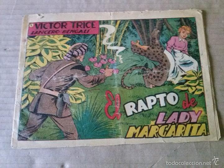 VICTOR TRICE , LANCERO BENGALI Nº 5 - GRAFIDEA- ORIGINAL, TA (Tebeos y Comics - Grafidea - Otros)