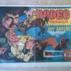 Tebeos: ROY ANDERS- Nº 10- GRAFIDEA- ORIGINAL - ES. Lote 58081012