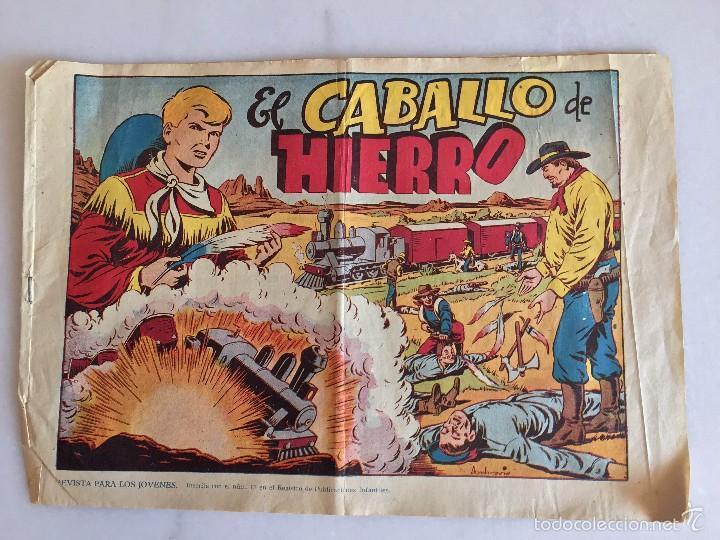 CHISPITA EN EL OESTE. EL CABALLO DE HIERRO (Tebeos y Comics - Grafidea - Chispita)